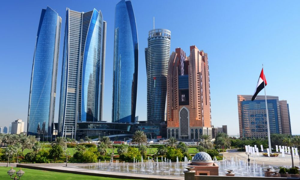 Skyscrapers of Abu-Dhabi.